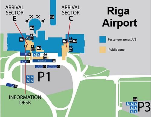 Transfer Riga Airport- Taxi, Minibus, Bus & Train transfers all ...
